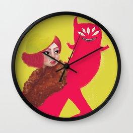Inner Demon Wall Clock