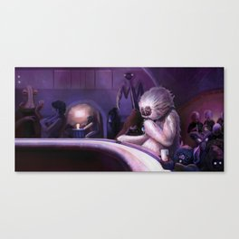 Hive of Scum and Villainy Canvas Print