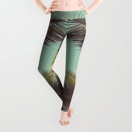 Autumn Palms Leggings