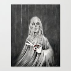 La Mort / Death Canvas Print