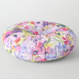 Pink Lavender Floor Pillow