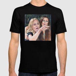 Woman Yelling at Cat Meme-1 T-shirt