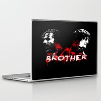 rick grimes Laptop & iPad Skins featuring Daryl Dixon and Rick Grimes by artandawesome