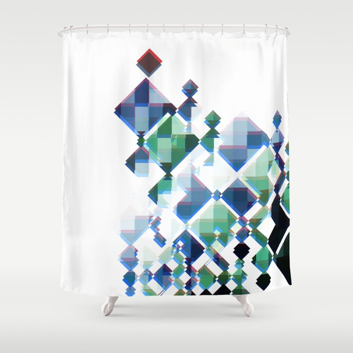 TABLE POLITICS Shower Curtain