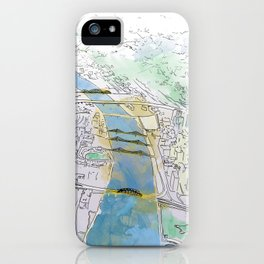 Pittsburgh Aerial iPhone Case