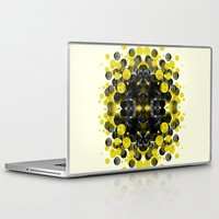 rorschach Laptop & iPad Skins featuring Rorschach test by ANNIKA THORN