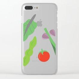 veggie Clear iPhone Case