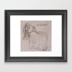 URSIDAE 1 Framed Art Print