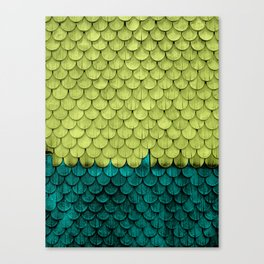SHELTER / Arcadia / Lime Punch Canvas Print