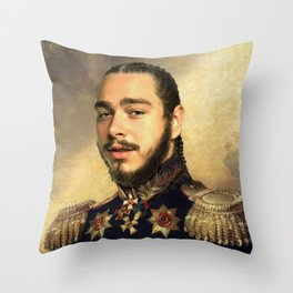 Post Classical painting Throw Pillow
