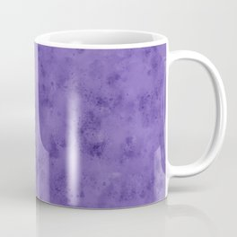 Watercolor Splattering in Ultra Violet (2018 Pantone color) Coffee Mug