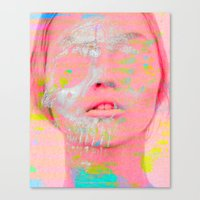 tchmo Canvas Prints featuring Untitled 20110509a by tchmo