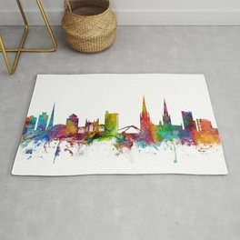 Coventry England Skyline Rug