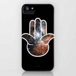 Hamsa Milky Way iPhone Case