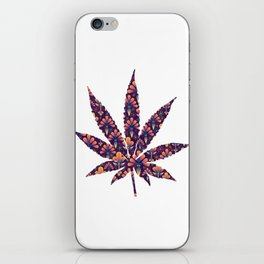 Cannabis Rainbow Design (138) iPhone Skin