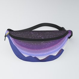 Mountains in Space Fanny Pack