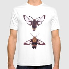 snowberry clearwings White Mens Fitted Tee MEDIUM