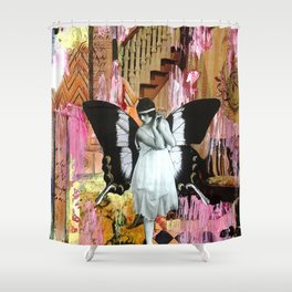 Something in What Feels Like Forever Shower Curtain