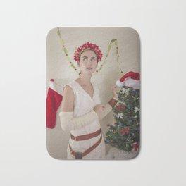 Scavenger Christmas Cosplay 4 Bath Mat