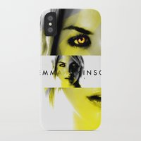 gemma iPhone & iPod Cases featuring GEMMA ATKINSON by OmaPRINTS