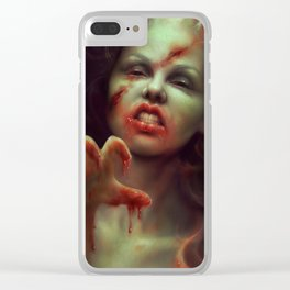 To Die For Clear iPhone Case