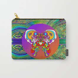 LOVE WITH A COSMIC BUTTERFLY Carry-All Pouch
