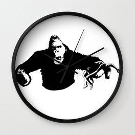 king to the kong Wall Clock