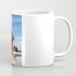 Empty Log Farm House Coffee Mug