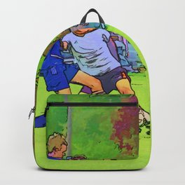 The Big Steal - Soccer Players Backpack