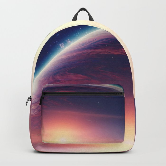 Jupiterian sunset Backpack