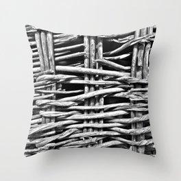 Madeira Basket Ride Throw Pillow