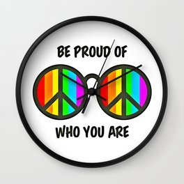 Gay Pride (21) Wall Clock