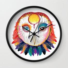 Ziggy Owl Wall Clock