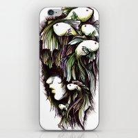 the life aquatic iPhone & iPod Skins featuring Aquatic by Emma Lettera