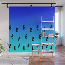 Under the Sea(horse)-Dark to Light Wall Mural