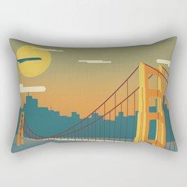 Golden Gate Bridge, San Francisco, California Rectangular Pillow