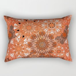 Boho Mandela Pattern 5 Rectangular Pillow