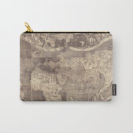 World Map 1507 Carry-All Pouch