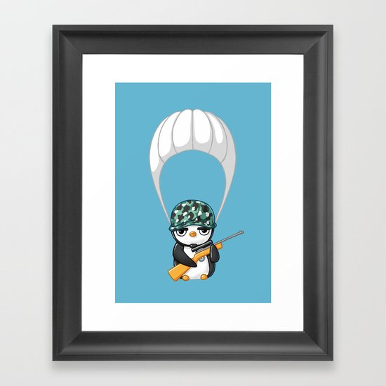 Commando Framed Art Print