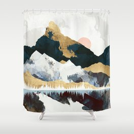 Winters Day Shower Curtain