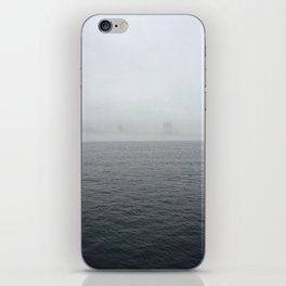 Through the fog lies NYC iPhone Skin