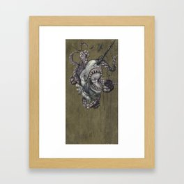 the narwhals last song Framed Art Print