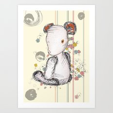 Mr Ted Art Print