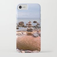 geology iPhone & iPod Cases featuring At the beach by UtArt