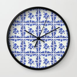 Dutchie Blues 3 Wall Clock