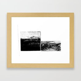 DUPLICITY / 02 Framed Art Print