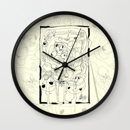 The First Wall Clock
