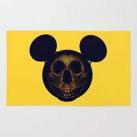 mickey Area & Throw Rugs featuring Mickey by nicebleed
