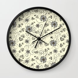 my heart is dancing Wall Clock
