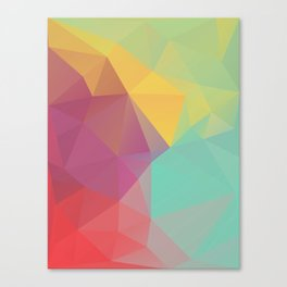 Geometric XI Canvas Print